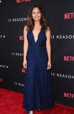 ALISHA BOE at 13 Reasons Why Premiere in Los Angeles 03/30/2017