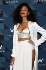 ALUNA FRANCIS at W Las Vegas Grand Opening Celebration in Las Vegas 03/31/2017