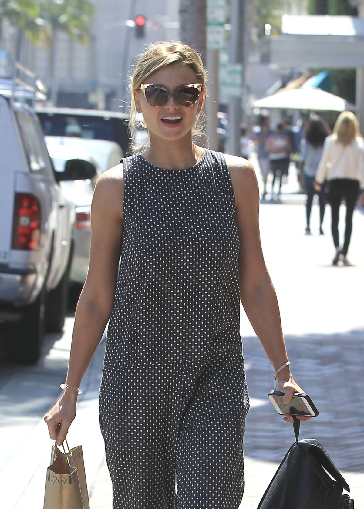 ALYSON ALY MICHALKA Out Shopping in Beverly Hills 04/04 ...