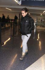 ALYSSA MILANO at LAX Airport in Los Angeles 04/02/2017