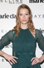 ALYSSA SUTHERLAND at Marie Claire Celebrates Fresh Faces in Los Angeles 04/21/2017