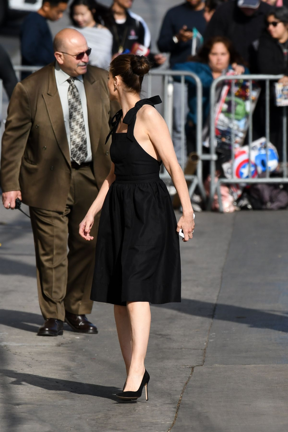 AMANDA PEET Arrives at Jimmy Kimmel Live in Los Angeles 04 ...