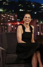 AMANDA PEET at Jimmy Kimmel Live 04/03/2017