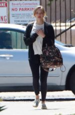 AMANDA SEYFRIED Out for Coffee in Los Angeles 04/13/2017