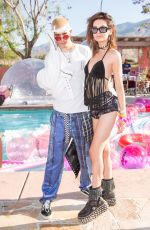 AMANDA STEELE at Paper x Pretty Little Thing Event at 2017 Coachella Valley Music and Arts Festival 04/14/2017