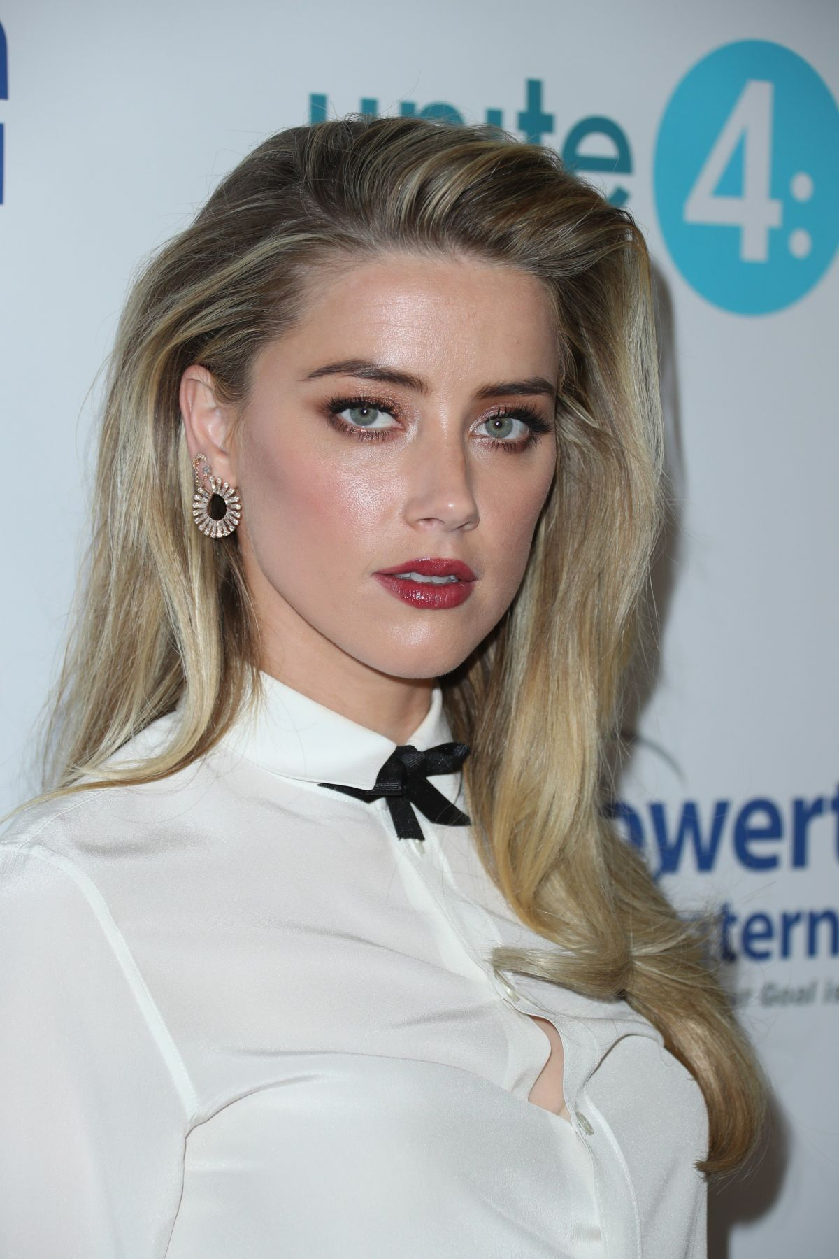 AMBER HEARD at 4th Annual unite4:humanity Gala in Beverly ... Amber Heard