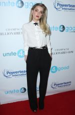 AMBER HEARD at 4th Annual unite4:humanity Gala in Beverly Hills 04/07/2017