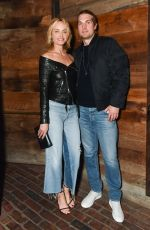 AMBER VALLETTA at Sally Singer and Lisa Love Denim Dinner in Los Angeles 04/05/2017