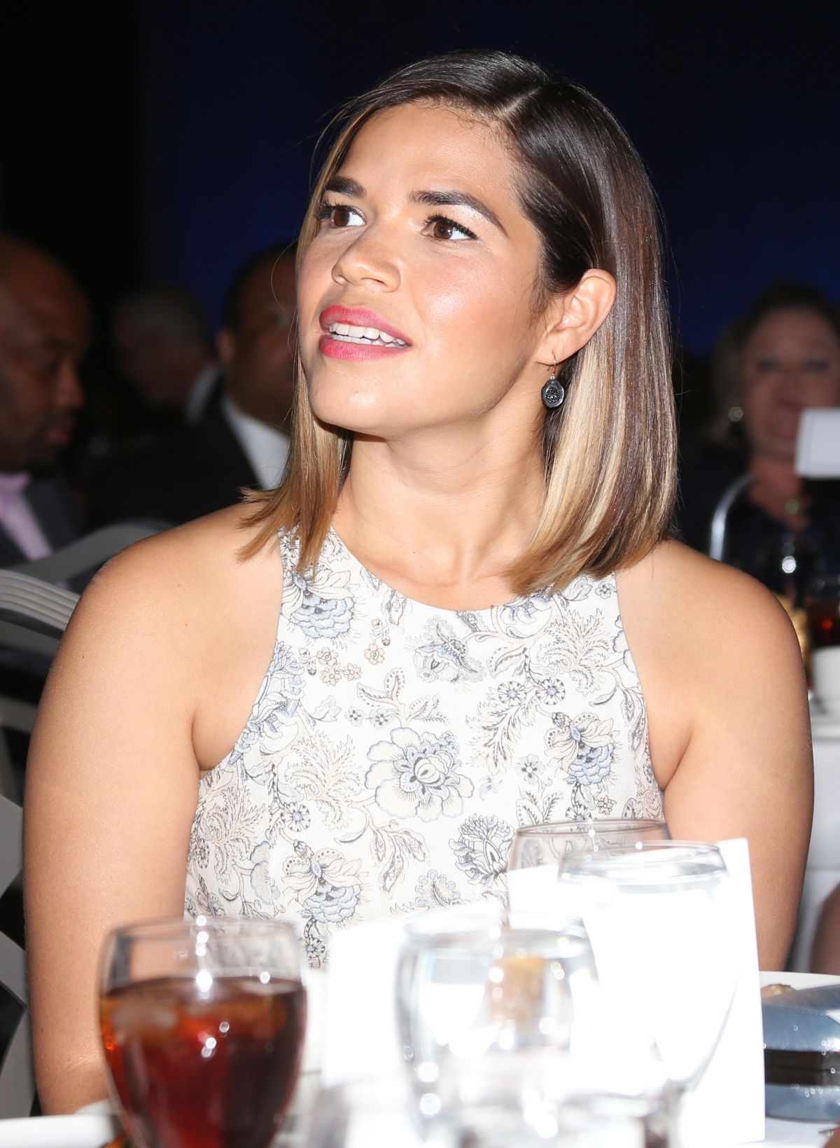 AMERICA FERRERA at 2017 National Association of Broadcasters Convention in Las Vegas 04/24/2017