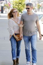 AMY ADAMS Out Shopping in Beverly Hills 04/21/2017