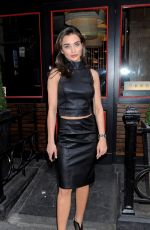 AMY JACKSON at Bradley Theodore VIP Private View at Maddox Gallery in London 04/19/2017