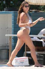 ANASTASIA KVITKO in Swimsuit at a Beach in Miami 04/27/2017