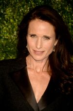 ANDIE MACDOWELL at Chanel Artists Dinner at Tribeca Film Festival in New York 04/24/2017