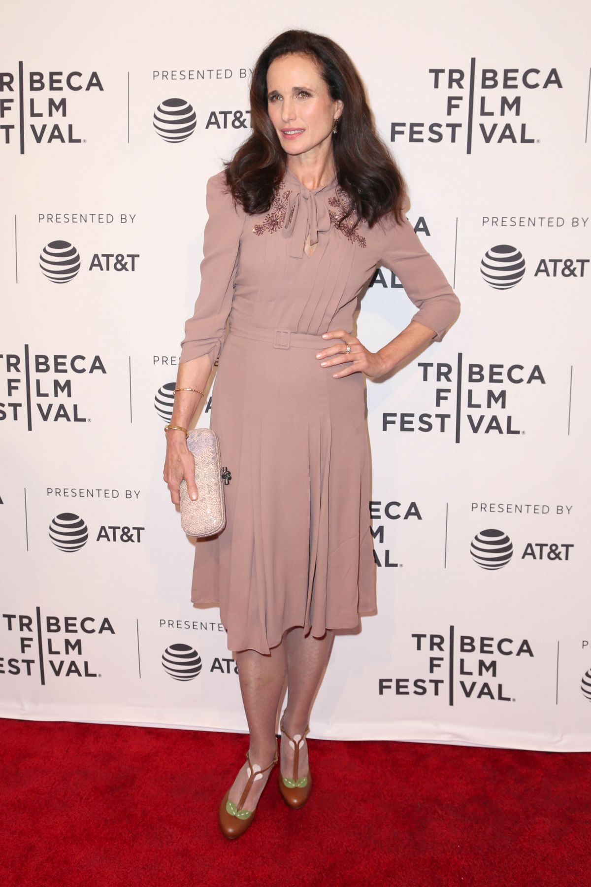 ANDIE MACDOWELL at Love After Love Screening at 2017 Tribeca Film Festival in New York 04/22/2017