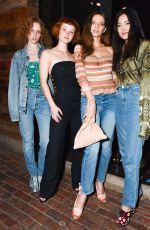 ANGELA SARAFYAN at Sally Singer and Lisa Love Denim Dinner in Los Angeles 04/05/2017