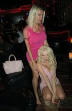 ANGELIQUE FRENCHY MORGAN and COURTNEY STODDEN at a Club in Las Vegas 0/29/2017