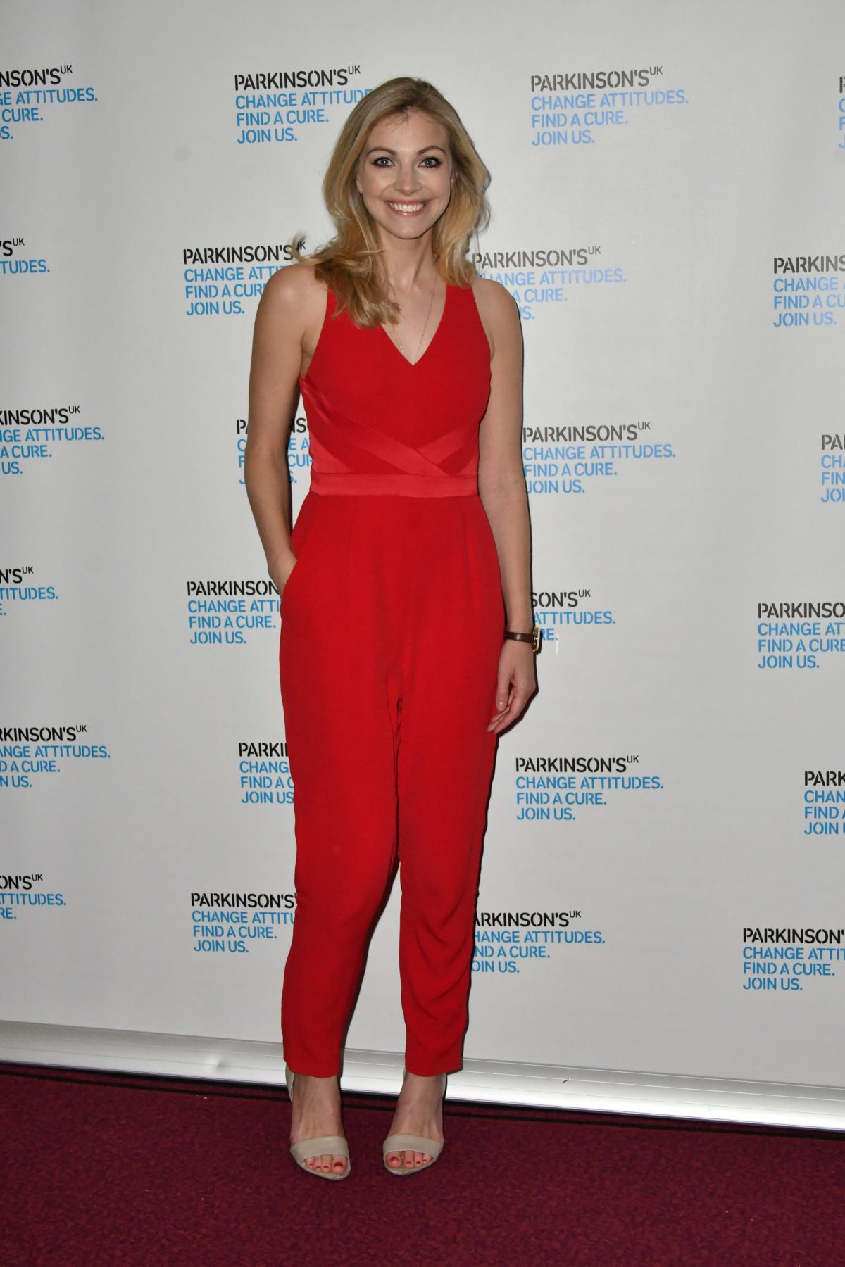 ANNA JOHNSON at Parkinson's UK Presents Symfunny No. 2 in London 04/19/2017