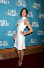 ANNA VILLAFANE at Speech & Debate Premiere in New York 04/02/2017