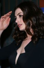 ANNE HATHAWAY at Colossal Premiere in Hollywood 04/04/2017