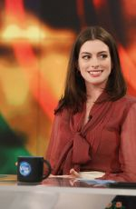 ANNE HATHAWAY at The View 04/20/2017