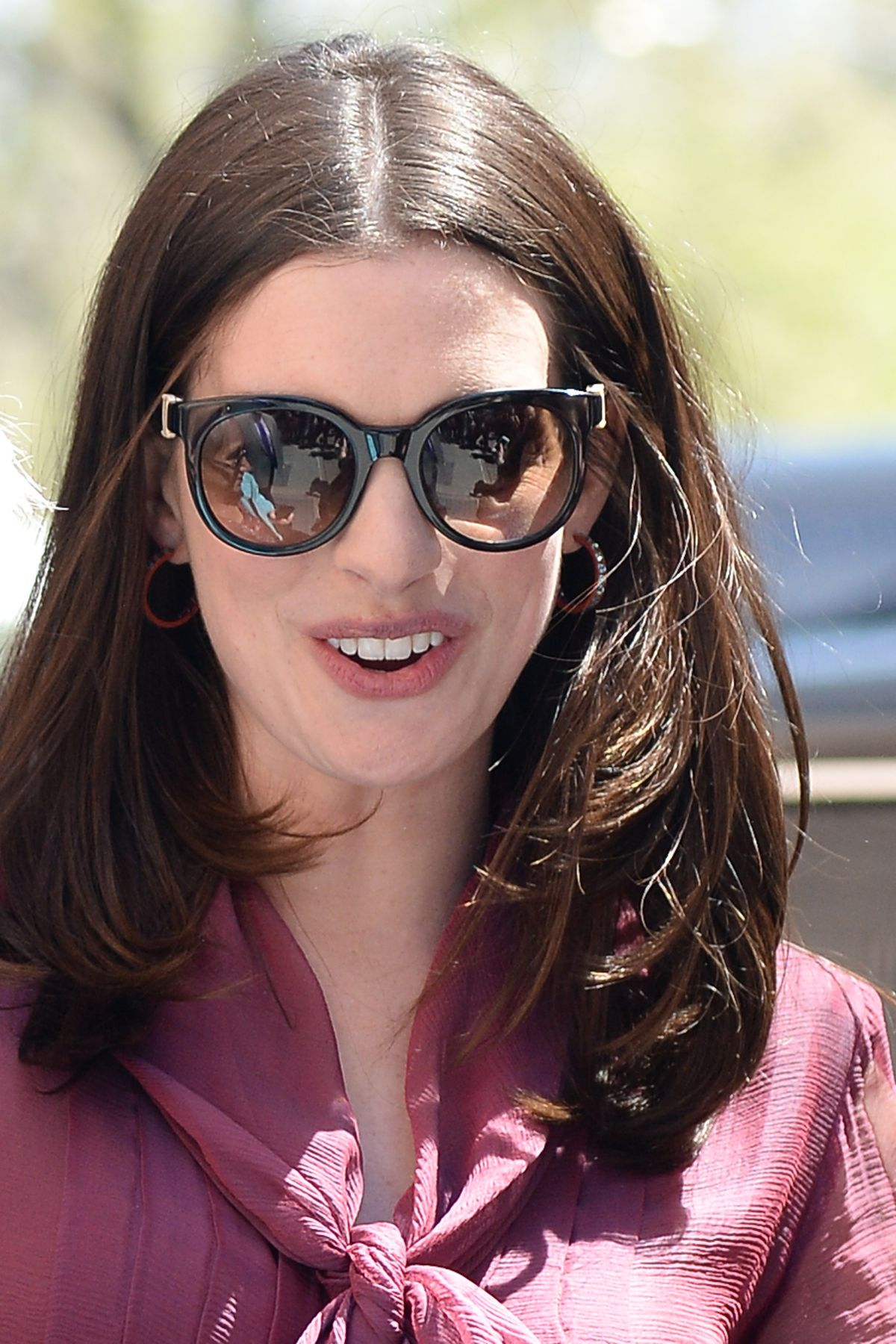 ANNE HATHAWAY at The View in New York 04/18/2017 - HawtCelebs Anne Hathaway