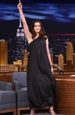 ANNE HATHAWAY at Tonight Show Starring Jimmy Fallon 04/17/2017