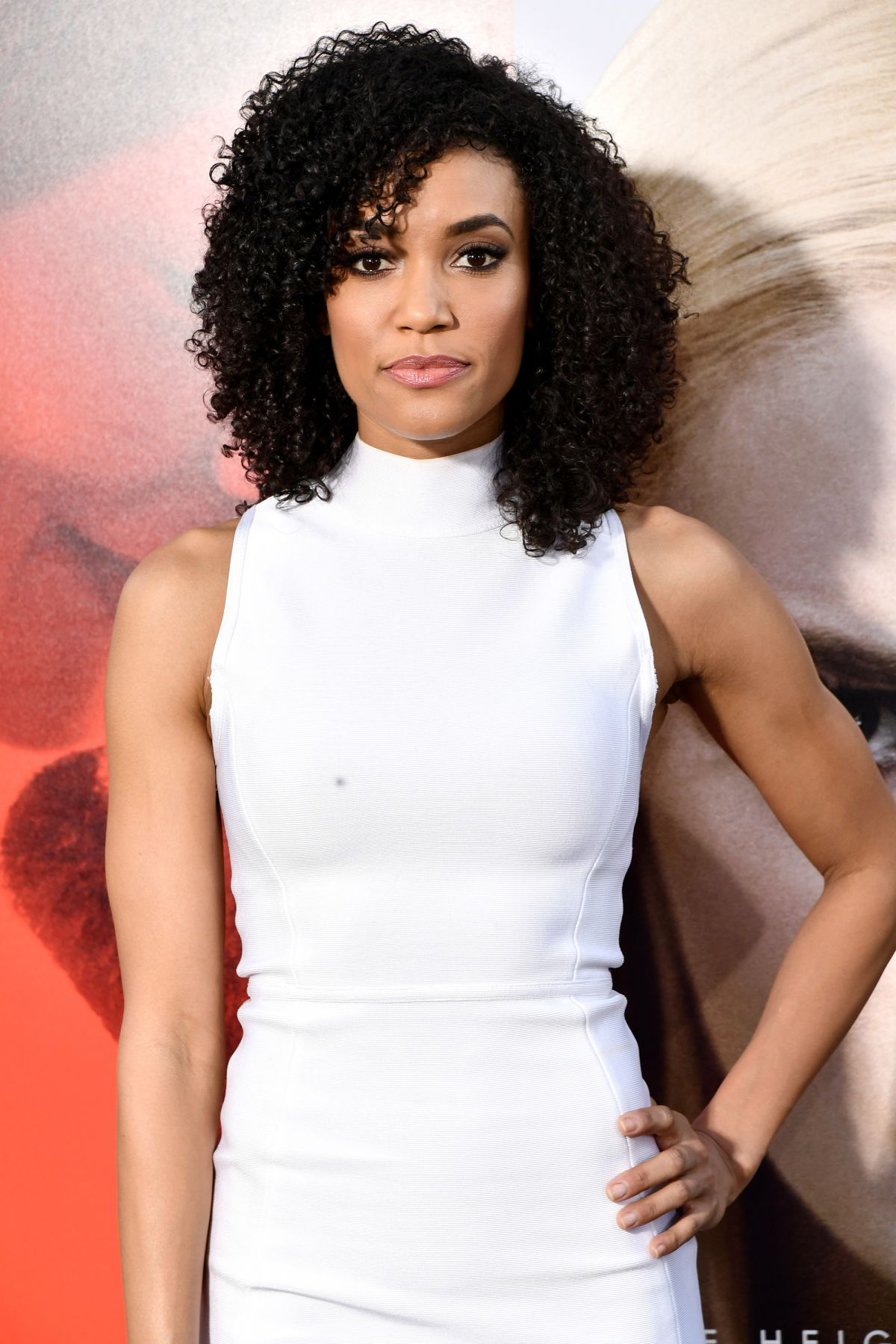 ANNIE ILONZEH at Unforgettable Premiere in Los Angeles 04/18/2017