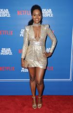 ANTOINETTE ROBERTSON at Dear White People Series Premiere in Los Angeles 04/27/2017
