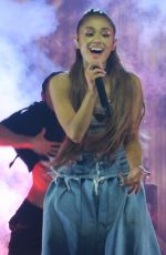 ARIANA GRANDE Performs at her Dangerous Woman Tour in Los Angeles 03/31/2017