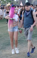ARIEL WINTER at Coachella Valley Music and Arts Festival in Indio 04/14/2017