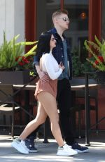 ARIEL WINTER in Shorts Out and About in Beverly Hills 04/08/2017