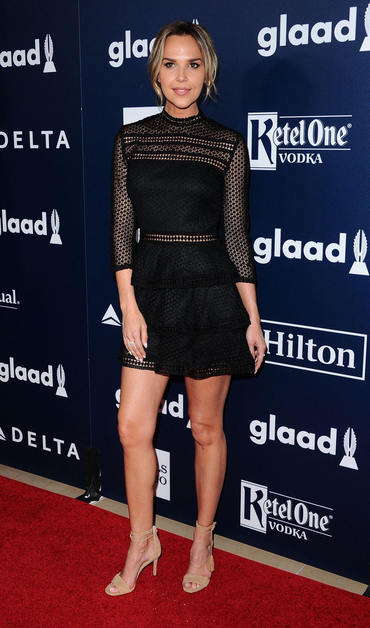 ARIELLE KEBBEL at 2017 Glaad Media Awards in Los Angeles 04/01/2017