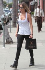 ARIELLE KEBBEL Out and About in Beverly Hills 04/26/2017