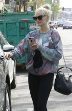 ASHLEE SIMPSON Leaves a Gym in Studio City 04/07/2017