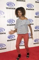 ASHLEIGH MURRAY at Riverdale Press Room at WonderCon in Anaheim 03/31/2017\