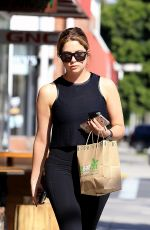 ASHLEY BENSON in Tights Out in Beverly Hills 04/05/2017