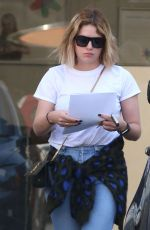 ASHLEY BENSON Out in Los Angeles 04/10/2017