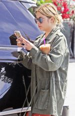 ASHLEY BENSON Out in Los Angeles 04/13/2017