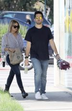 ASHLEY BENSON Out in West Hollywood 04/11/2017