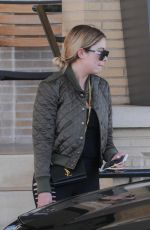 ASHLEY BENSON Out Shopping in Beverly Hills 04/28/2017