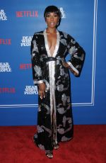 ASHLEY BLAINE FEATHERSON at Dear White People Series Premiere in Los Angeles 04/27/2017