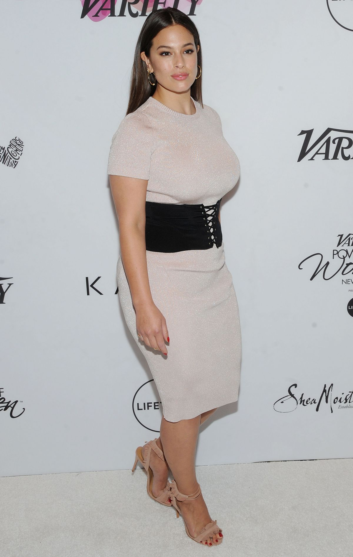 ASHLEY GRAHAM at Variety's Power of Womae NY Presented by Lifetime in Ciprani Midtown in New York. 04/21/2017