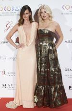 ASHLEY JAMES at Global Gift Gala in Madrid 04/04/2017
