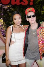 ASHLEY MADEKWE at Moschino Candy Crush Party at Coachella Festival in Indio 04/15/2017
