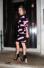 ASHLEY ROBERTS Arrives at Urban Decay VIP Dinner in London 04/24/2017