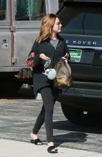 ASHLEY TISDALE Out and About in Los Angeles 04/05/2017