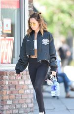 ASHLEY TISDALE Out for a Pilates Class in Los Angeles 04/28/2017
