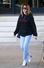 ASHLEY TISDALE Out Shopping in Beverly Hills 03/31/2017