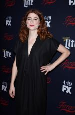 AYA CASH at FX Network 2017 All-star Upfront in New York 04/06/2017