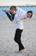 BAILEE MADISON on the Set of a Photoshoot in Fort Lauderdale 04/26/2017